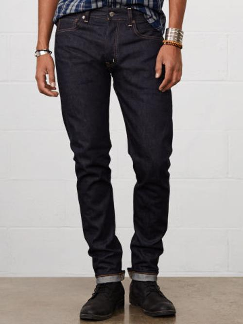 Slim-Fit Selvedge Jean by Ralph Lauren in Addicted