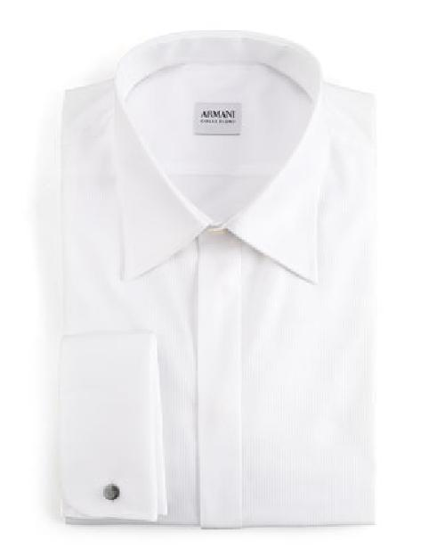 Basic Formal Shirt, Modern Fit by Armani Collezioni in The Wolf of Wall Street