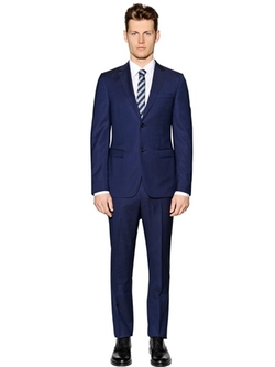 Wool Twill Suit by Z Zegna in Vinyl