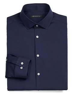 Slim-Fit Dover Luxe Dress Shirt by Theory in Fantastic Four