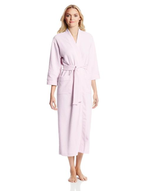 Women's Tropic Ditsy Long Robe by Carole Hochman in Dumb and Dumber To