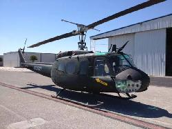 UH-1 Iroquois H by Bell in X-Men: Days of Future Past