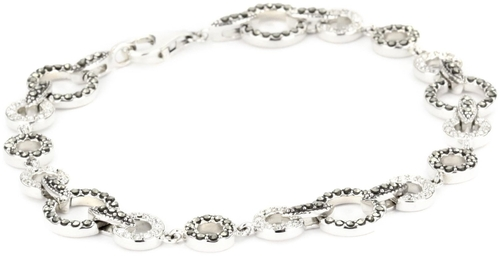 Crystal Pave Link Bracelet by Judith Jack in Clueless