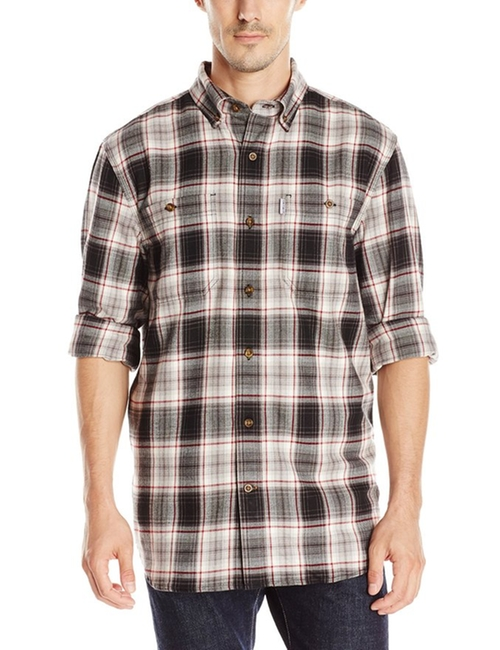 Men's Trumbull Plaid Shirt by Carhartt in Silicon Valley - Season 3 Episode 8