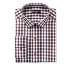 Textured Gingham Dress Shirt by Bar III in Modern Family