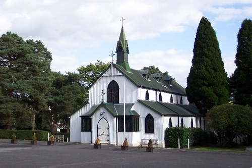 The Garrison Church of St. Barbara Deepcut, United Kingdom in Kingsman: The Secret Service