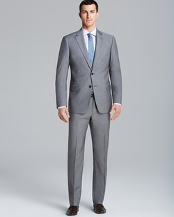 End on End Suit by Armani Collezioni Giorgio in Empire