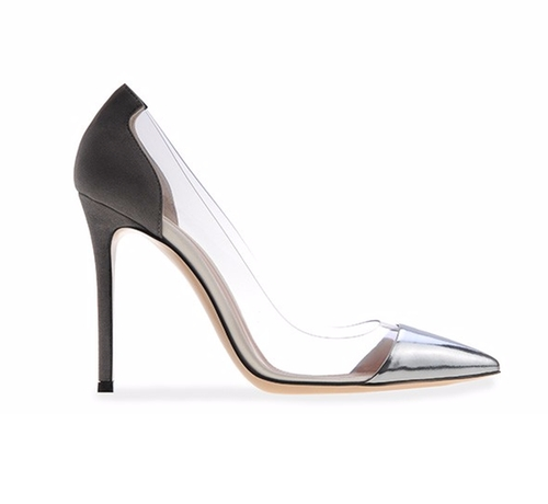 Plexi Pumps by Gianvito Rossi in Keeping Up With The Kardashians - Season 12 Episode 4