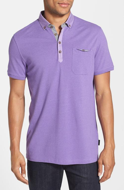 Ovaskep Piqué Polo by Ted Baker London in Let's Be Cops
