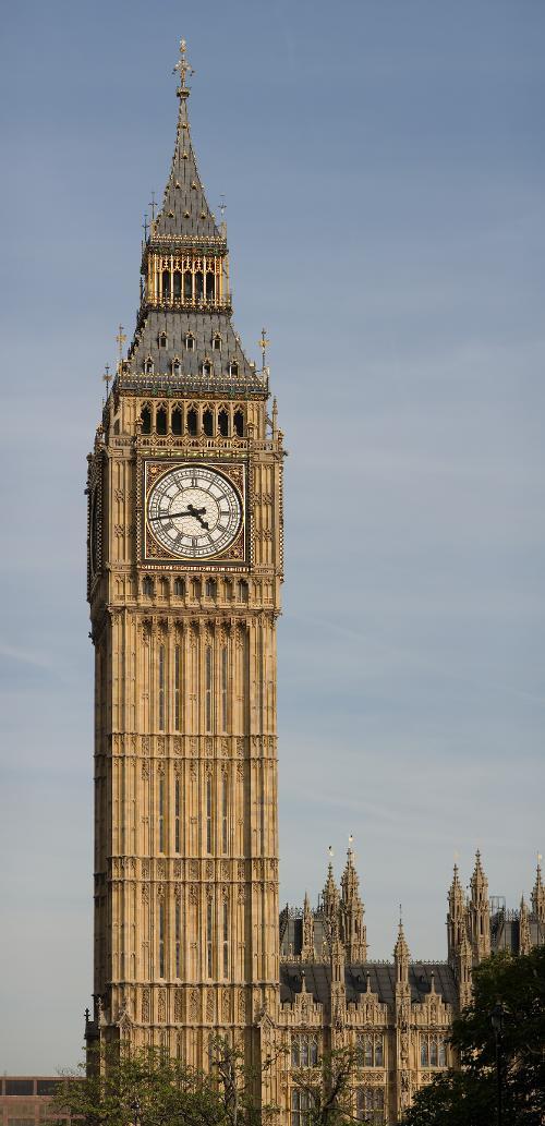 Big Ben London, England in Edge of Tomorrow