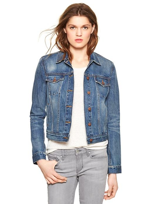1969 denim jacket by Gap in Fifty Shades of Grey