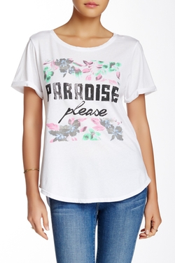 Paradise Crew Neck Tee by Signorelli in Sleeping with Other People