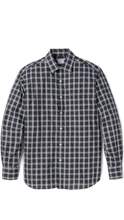 Check Poplin Shirt by Hamilton 1883 in Modern Family