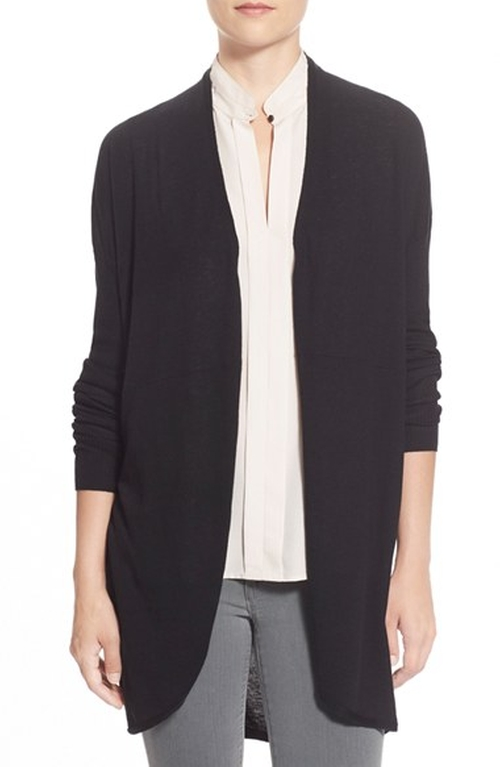Rib Sleeve Cocoon Cardigan by Halogen in Jessica Jones