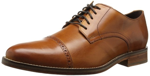 Preston Cap-Toe Oxford Shoes by Cole Haan in Rosewood