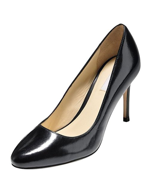 Bethany Almond-Toe Leather Pump Shoes by Cole Haan in The American