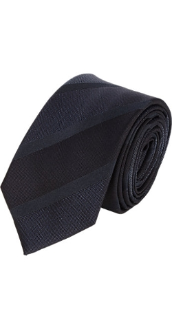 Club Stripe-Pattern Neck Tie by Lanvin in The Longest Ride