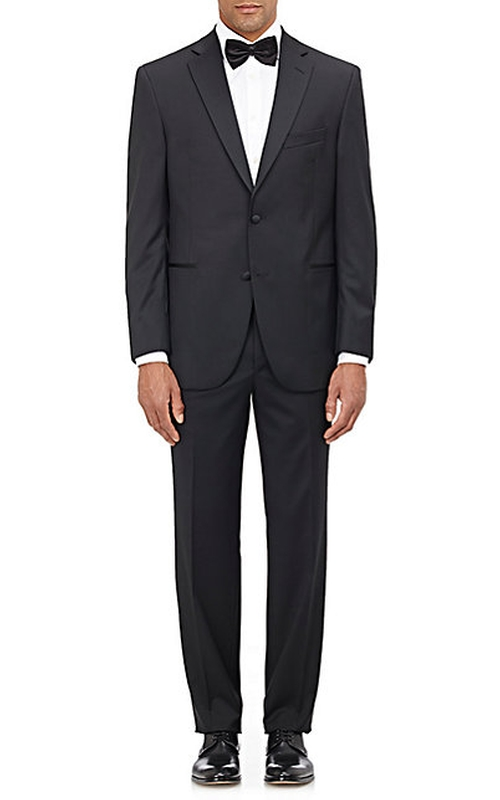 Two-Button Tuxedo Suit by Barneys New York in The Living Daylights