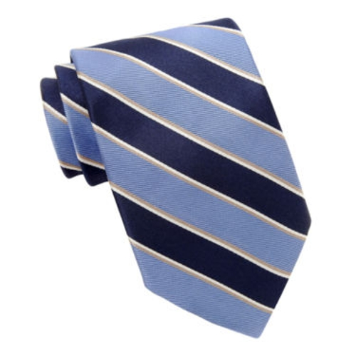 Striped Tie by Stafford in Unfinished Business