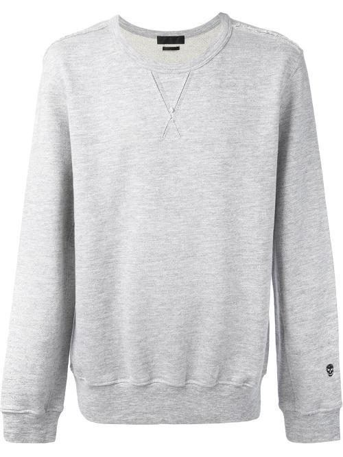 Raw Seam Sweatshirt by Alexander McQueen in Man of Steel