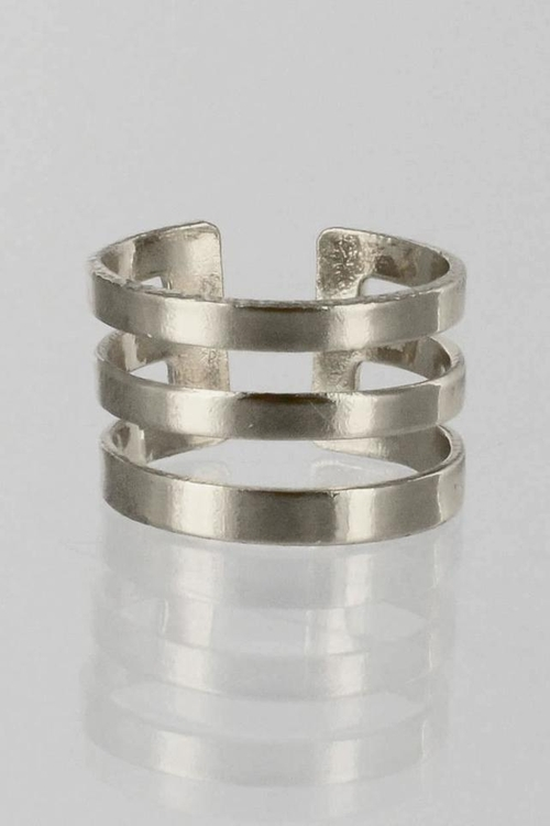 Stackable Stripes Ring by Winky Designs in Pretty Little Liars - Season 6 Episode 9