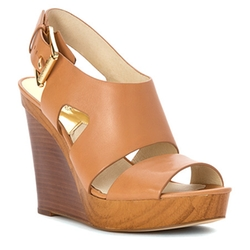 Women's Carla Platform Wedge Sandals by Michael Michael Kors  in Elementary