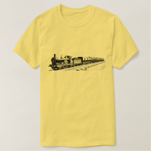 Vintage Train T Shirt  by Zazzle in The Big Bang Theory - Season 9 Episode 15
