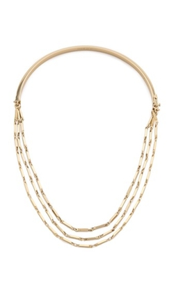 Peaked Chain Necklace by Eddie Borgo in Supergirl