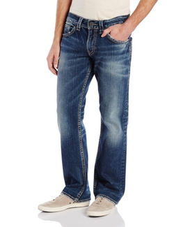 Zac Relaxed-Fit Straight-Leg Jean by Silver Jeans in Pretty Little Liars