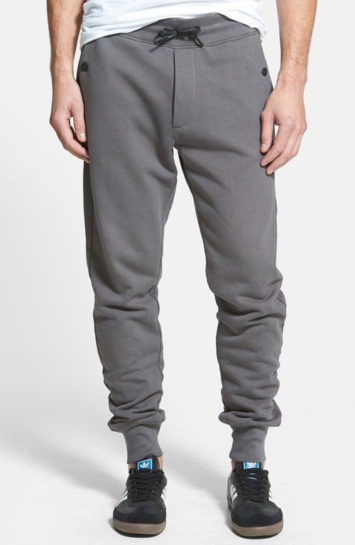 Slim Fit Sweatpants by True Religion Brand Jeans in Get Hard