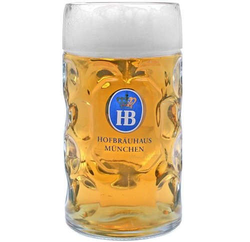 Dimple German Beer Mug by Hofbrauhaus in Unfinished Business