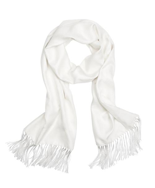Houndstooth Jacquard Formal Scarf by Brooks Brothers in New Year's Eve