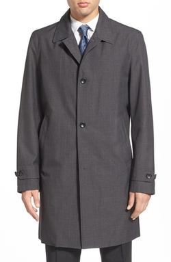 Trim Fit Waterproof Overcoat by Michael Kors  in The Blacklist