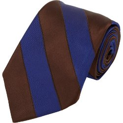 Diagonal Striped Neck Tie by Fairfax in The Boy Next Door