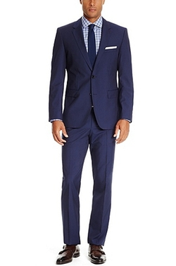 Wool Suit by Hugo Boss in Elementary