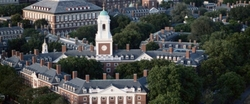 Cambridge, Massachusetts by Harvard University in Legally Blonde