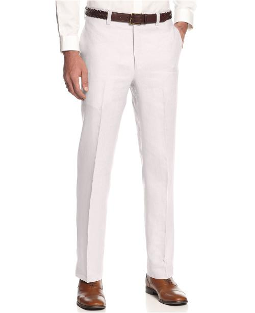 Linen Dress Pants by Ralph Lauren in Limitless