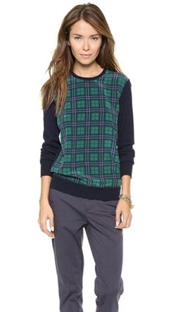 Roland Crew Neck Sweater by Equipment in The Mindy Project