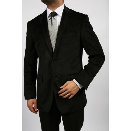 Men's Black Velvet Blazer by Ferecci in Horrible Bosses 2