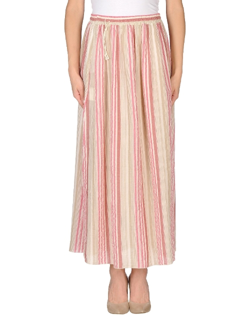 Stripe Long Skirt by Novemb3r in McFarland, USA