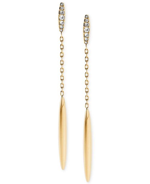Pavé Matchstick Drop Earrings by Michael Kors in Pretty Little Liars - Season 6 Episode 10