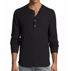 Thermal Henley T-Shirt by 7 For All Mankind in Empire