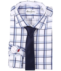 Charly Dress Shirt by Robert Graham in New Girl