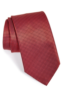 Geometric Silk Tie by Ermenegildo Zegna in Scandal