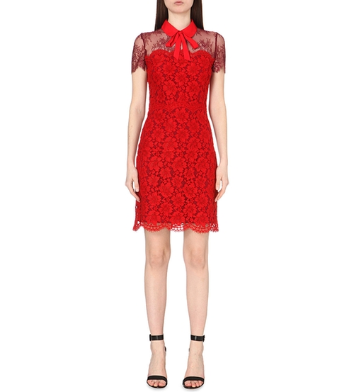 Lace-Embroidered Mini Dress (Modified) by Sandro in Imaginary Mary - Season 1 Preview