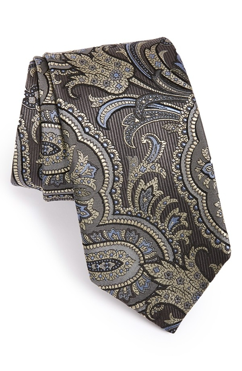 Paisley Silk Tie by David Donahue in Scandal - Season 5 Episode 8