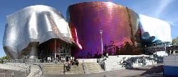 Seattle, Washington, USA by EMP Museum in Laggies
