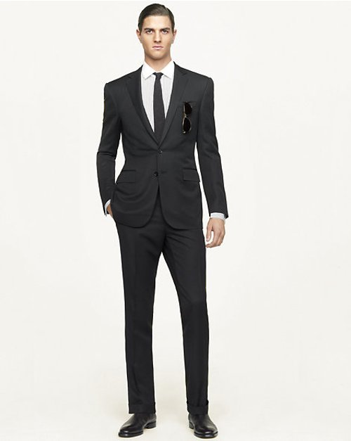 Anthony Solid Suit by Ralph Lauren in The Loft