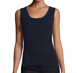 Modern Cashmere Tank Top by Neiman Marcus Cashmere Collection in A Bad Moms Christmas