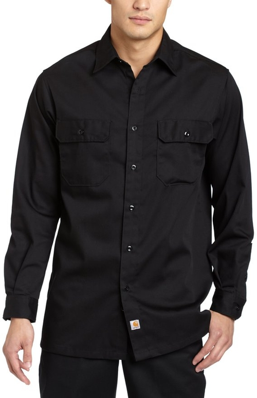 Twill Long Sleeve Work Shirt by Carhartt in The Hunger Games: Mockingjay - Part 2